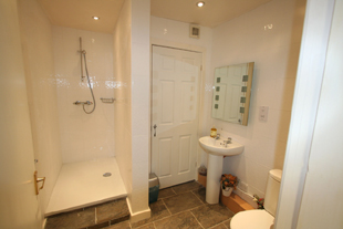 Ground floor bathroom, Whiteley Royd Farm, Hebden Bridge