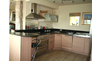 The Kitchen, Whiteley Royd Farm, Hebden Bridge