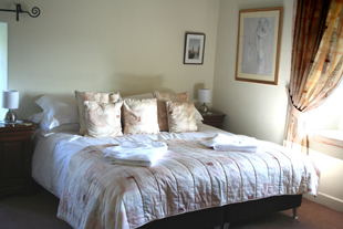 The Master Bedroom, Whiteley Royd Farm, Hebden Bridge