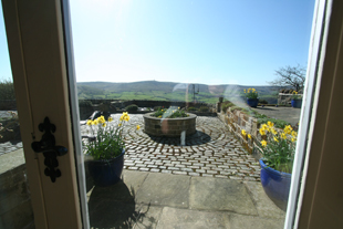 View from the Lounge, Whiteley Royd Farm, Hebden Bridge